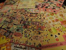 Kawaii RARE Sticker Sheet Hello Kitty Rilakkuma Mamegoma Sentimental Circus 1pc