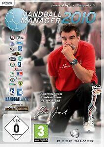 Handball-Manager-2010-Heiner-Brand-fuer-Pc-Neu-Ovp-Deutsch