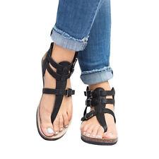 2e5573cd476b item 3 Womens Ankle Strap Sandals Cork Heel Summer Gladiator Flip Flops  Flat Shoes Size -Womens Ankle Strap Sandals Cork Heel Summer Gladiator Flip  Flops ...