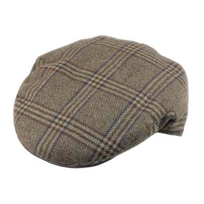 51eabcb90 Christys' Hats Brighton Driver Cap Teviot Tweed Forest
