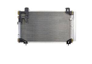 CONDENSER AIR CON RADIATOR TO FIT TOYOTA AVENSIS T25 2003 TO 2008 1.6 1.8 PETROL