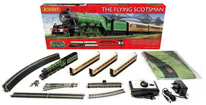 Hornby The Flying Scotsman Oo Échelle Dcc Ready Modèle Ensemble Train R1167