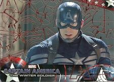 2014 CAPTAIN AMERICA The Winter Soldier #15 RED Foil Parallel # 88 of 99