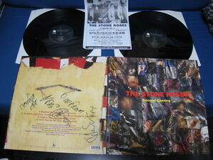 Stone Roses Second Coming Uk Dbl Vinyl Lp Signed Copy W