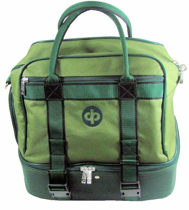 Drakes Pride - Midi Bag Green - Lawn   Crown Green Bowls Carry Bag with Strap