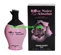 ROSE NOIRE ABSOLUE GIORGIO VALENTI PERFUME FOR WOMEN 3.3 OZ 100 ML EDP SPRAY NIB