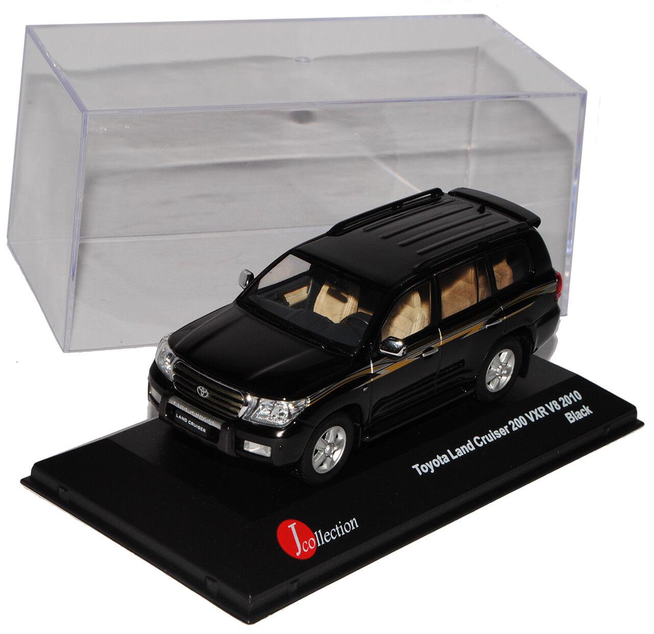 Toyota Land Cruiser V8 V8 V8 200 VXR J20 negro 2008-2012 1 43 modelo J-colección... d7cee5