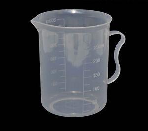 Food-Liquid-Chemical-Measuring-Jug-Beaker-Graduated-300-amp-250ml-Darkroom