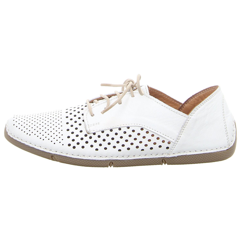 MANITU Schuhe Schnürschuh 850422-3 weiß NEU