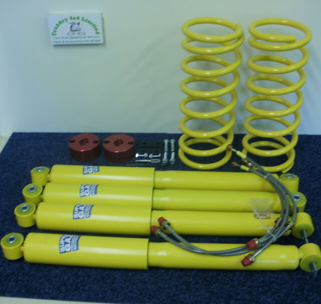 Land Rover Discovery 2 Full Lift Kit With Air Suspension Heavy Duty  FK0096