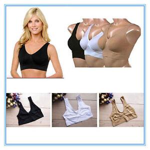Women  Shapewear Bra Seamless Slimming Underwear Sport Bras Yoga Exercise RF