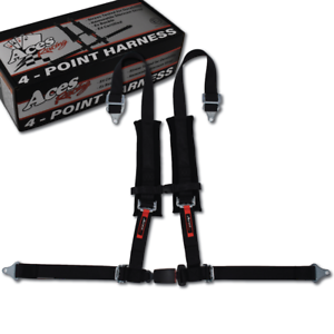 Off Road Jeep 4 Point Harness with EZ Automotive Buckle Technology E4 Certified