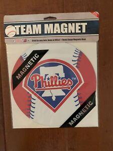 MLB-NIB-8-INCH-AUTO-MAGNET-Philadelphia-Phillies