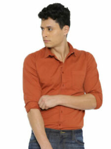 Mens-Formal-Shirt-Dress-Long-Sleeve-Slim-Fit-Casual-T-Shirts-Tops-Fashion