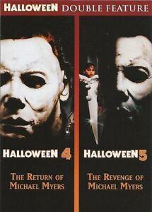 Halloween 4: The Return of Michael Myers / 5: Revenge of Michael Myers DVD NEW
