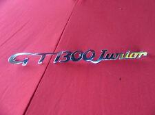"Alfa Romeo GT / Bertone Schriftzug "" GT 1300 Junior "" 1053035601300 NEU"