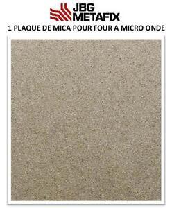 1  plaque de Mica pour four à Micro-Onde 100 X 100 mm- France Haute performance