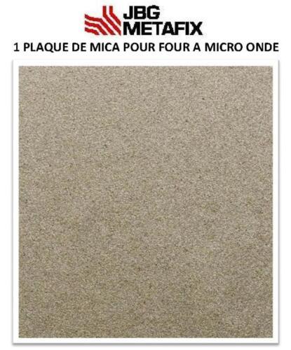 1  plaque de Mica pour four à Micro-Onde 300 X 200mm France Haute performance