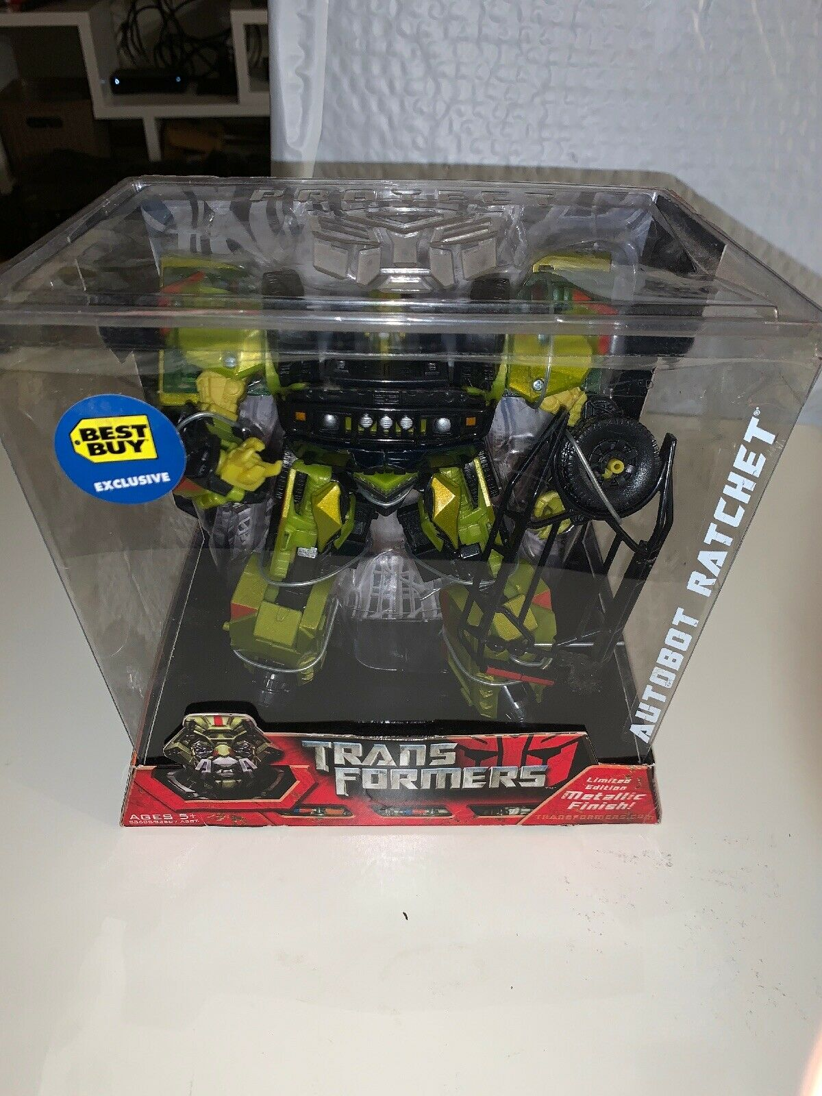 Transformers AUTOBOT RATCHET Voyager classe Best Buy Sealed Mettuttiic Finish