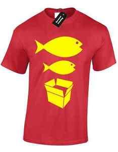 BIG FISH LITTLE FISH MENS T SHIRT S-5XL DANCE DJ ACID HOUSE RAVE HACIENDA MUSIC