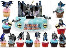 20 Eßbar Batman Party Deko Muffinaufleger neu dvd Film Backen lego Fledermaus 4