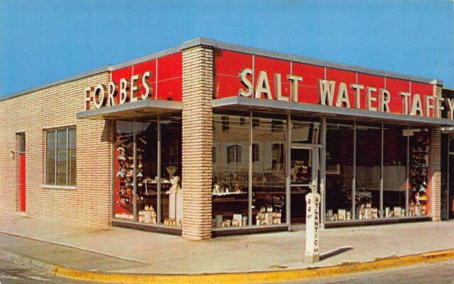 Va 1950 S Forbes Salt Water Taffy At Virginia Beach