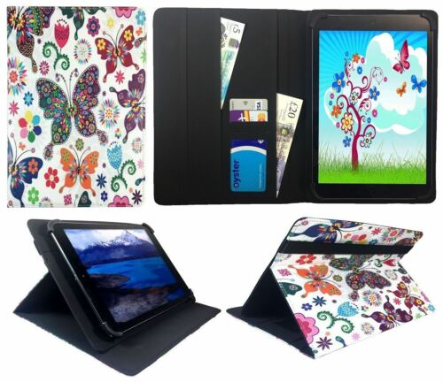 Denver TAQ-10242//TAQ-10243 Tablet 10.1 Pollici Universale Wallet Custodia Cover Folio