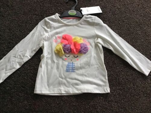 Girls long sleeve top age 2-3 years from M/&S
