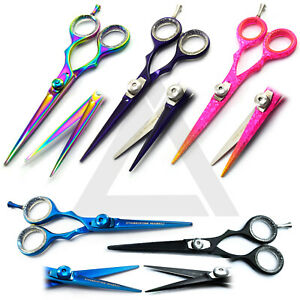 Barber-Salon-Hairdressing-amp-Haircutting-Scissors-Hair-Shear-Sharp-Blade-Scissor