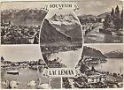 SOUVENIR DU LAC LEMAN - VEDUTINE (SVIZZERA) 1967
