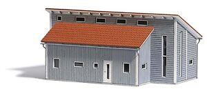 Busch H0 1548 Gewerbehalle, Maquettes De Monde Kit Construction 1:87
