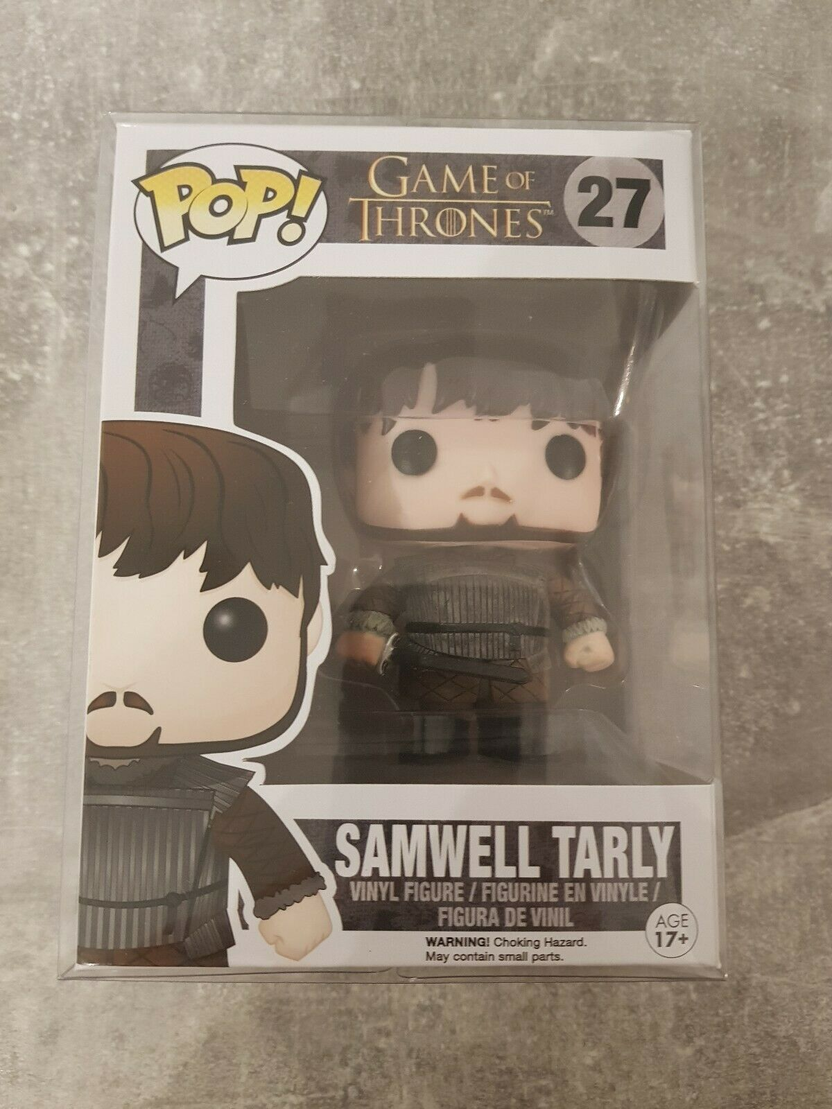 Samwell Tarley Funko Pop Vinyl, Game Of Thrones, Rare   Vaulted