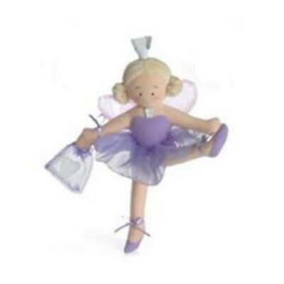 """North American Bear Fancy Prancy Princess 9/"""" Tooth Fairy in Pink Doll New!"""