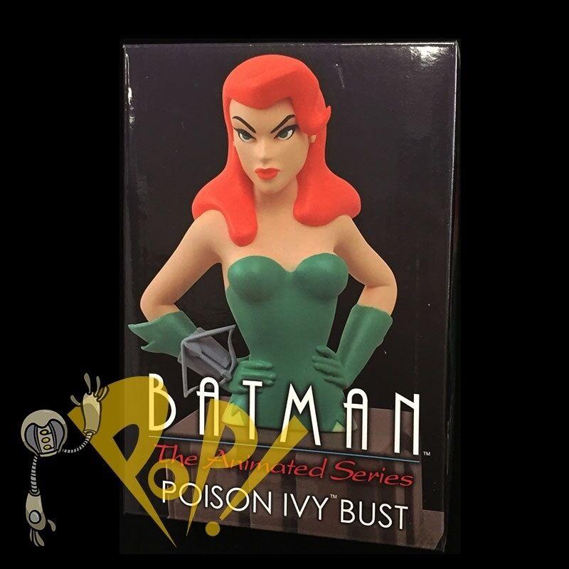 "BATMAN The Animated Series POISON IVY 6"" Mini Bust DC COMICS Diamond Select Toys"