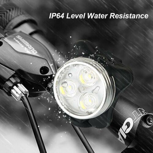 Waterproof Balhvit Bike Light Set Super Bright USB Rechargeable Bicycle Lights