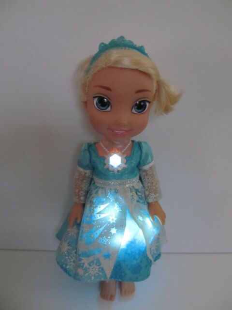 My First Disney Princess Frozen Elsa Snow Glow Singing Toddler Doll Lights Up