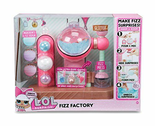 Fizz Factory Playset LOL Surprise!  Great Gift! Items for Kids 3 and Up