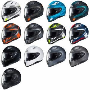 NEW-HJC-i70-Polycarbonate-Motorcycle-Helmet-DOT-Pick-Size-amp-Color
