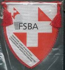 SWITZERLAND BASKETBALL FEDERATION SMALL PENNANT 10x10cm NEW SEALED