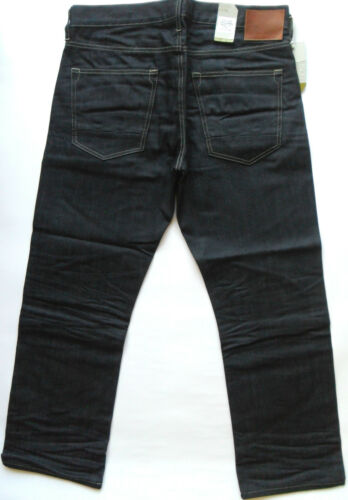 One Wash Sizes DUCK /& COVER Jeans Mens Loose Fit Big Ped Cuba 3D Raw 30 34