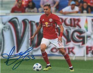 New-York-Red-Bulls-Aaron-Long-Autographed-Signed-8x10-Photo-COA-B
