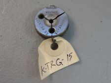 Hanson Whitney Machinist Thread Ring Gauge 6 40 Unf 2a Go Only Pd 1210