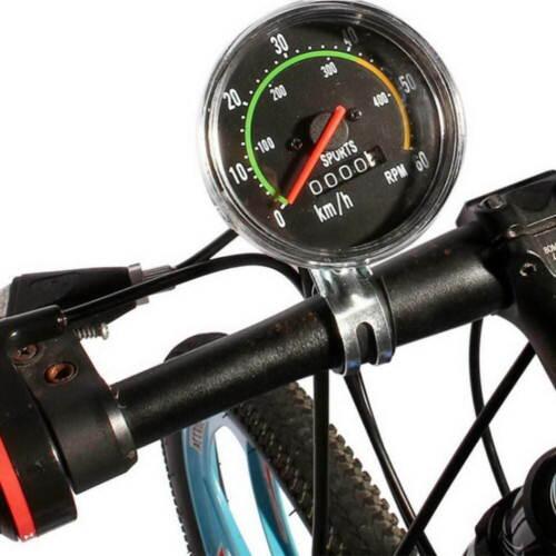 New Waterproof Bicycle Bike Speedometer Analog Mechanical Odometer Computers