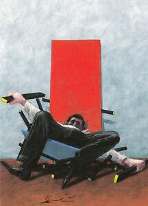 Gerhard Glück Postkarte Lieferung Glücksschwein