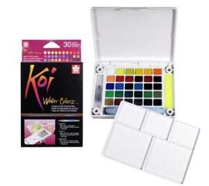 Palette-Aquarelle-30-couleurs-Sakura-Koi