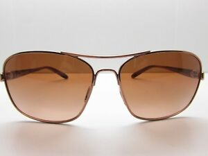 a0668a5848c3 Oakley 004116-01 Brown Aviator EYEGLASSES FRAMES 58-14-135 TV6 21643 ...