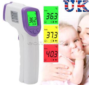 Ir-Infrarrojo-Termometro-Digital-De-Frente-Sin-Contacto-Bebe-Adulto-Cuerpo-termometer