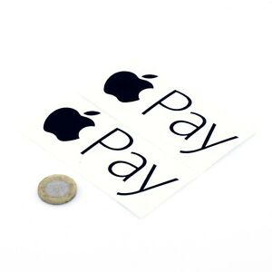Apple-Pay-Sticker-Vinyl-Decal-100mm-x2-VARIOUS-COLOURS-AVAILABLE