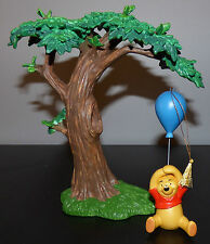 WDCC WINNIE THE POOH AND THE HONEY TREE DISNEY FIGURINE ORNAMENT + TREE