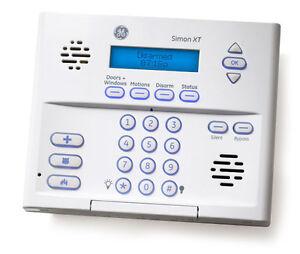 ge simon xt 600 1054 95r wireless home security system alarm panel rh ebay com Simon XT Touch Screen Manual Simon XT User Manual PDF